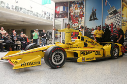 Helio Castroneves Indy 500 livery unveil