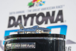 The Daytona 500 trophy