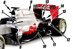 Haas F1 Team VF-16, Detail