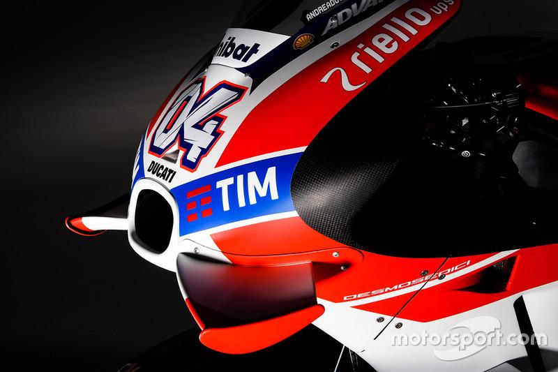 Ducati GP16 detalle