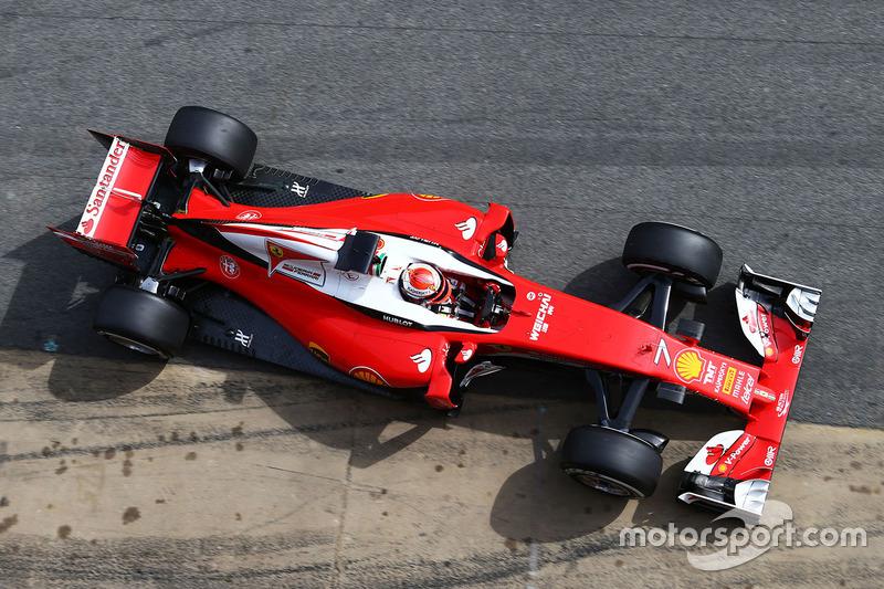 Bestzeit am 4. Tag: Kimi Räikkönen, Ferrari SF16-H