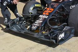McLaren MP4-31 alerón trasero