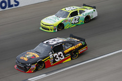 Brandon Jones, Richard Childress Racing Chevrolet; Justin Marks, Chip Ganassi Racing Chevrolet