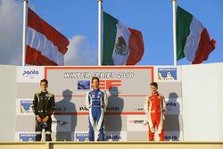 Подіум: переможець - Діего Менчака, друге місце - Фердінанд Хабсбург, Drivex School, третє місце - Леонардо Пульчіні, Campos Racing