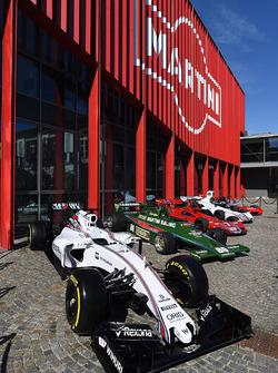 Williams FW38 e la collezione Martini vintage