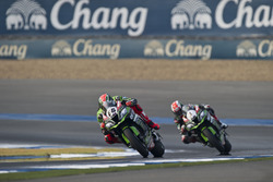 Tom Sykes, Kawasaki Racing Team and Jonathan Rea, Kawasaki Racing Team
