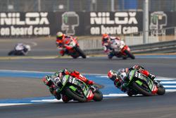 Tom Sykes, Kawasaki Racing Team und Jonathan Rea, Kawasaki Racing Team