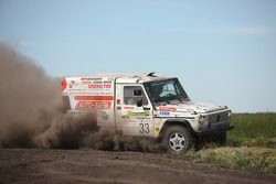 #33 Danner-Racing Puch-Mercedes G 320: Christof Danner and Jan Szekeres