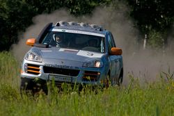 Team Qatar Porsche Cayenne S Transsyberia : Adel Abdulla et Norbert Lutteri