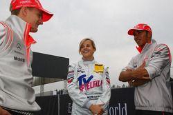 Хейкки Ковалайнен, McLaren Mercedes, Сьюзи Вольф, Motorsport AMG Mercedes и Льюис Хэмилтон, McLaren