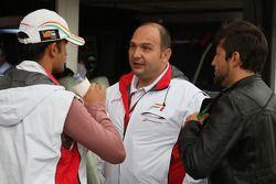 Vitantonio Liuzzi, Test Pilotu, Force India F1 Team ve Colin Kolles, Force India F1 Team, Takım Patr