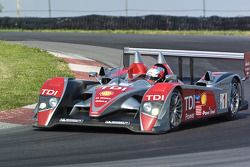 #1 Audi Sport North America Audi R10 TDI: Emanuele Pirro, Rinaldo Capello
