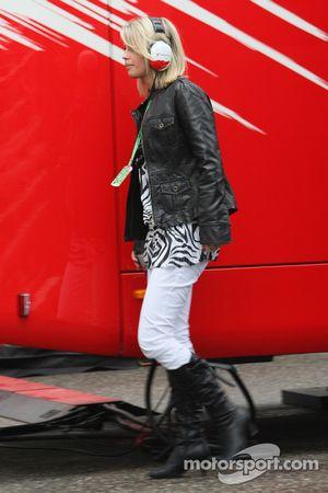 Timo Glock, Toyota F1 Team, kız arkadaşı