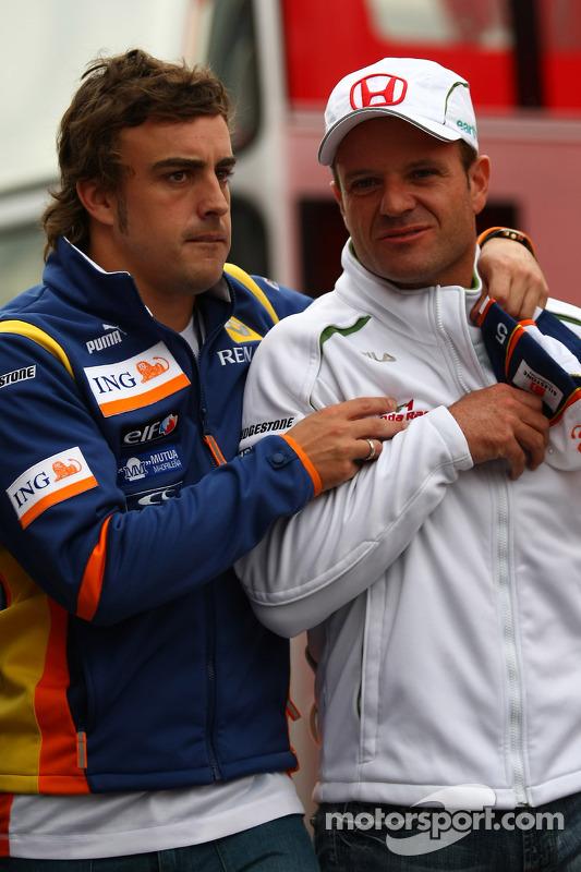 Resultado de imagen de Fernando Alonso Rubens Barrichelo
