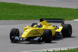 A1GP Powered by Ferrari Car tested by Andrea Bertolini