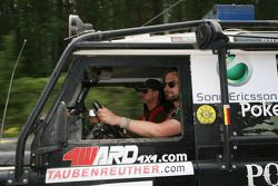 #21 JoeVito Land Rover Defender 90: Panos Meyer and Birger Veit