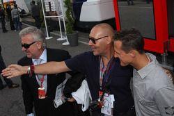 Willi Weber, Pilot Menajeri, Michel Comte ve Michael Schumacher, Test Pilotu, Scuderia Ferrari