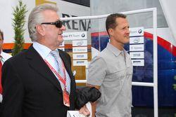 Willi Weber, Pilot Menajeri, Michael Schumacher, Test Pilotu, Scuderia Ferrari