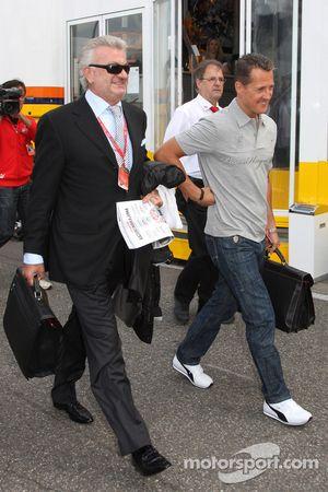 Willi Weber, Pilot Menajeri ve Michael Schumacher, Test Pilotu, Scuderia Ferrari