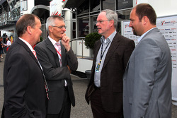 Klaus Schwenninger, Circuit Cheif of Hockenheimring and Dr Walter Kafitz, CEO of the Nurburgring