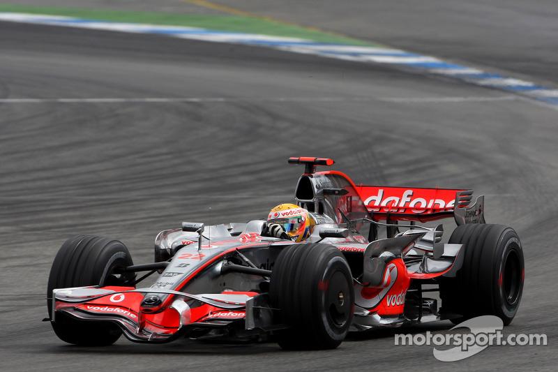 Гран Прі Німеччини 2008, McLaren MP4-23