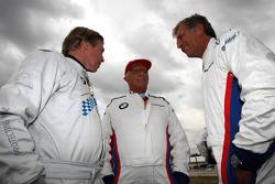 Leopold von Bayern, Niki Lauda y Christian Danner