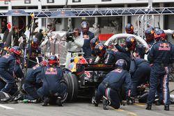 Ravitaillement de Mark Webber, Red Bull Racing RB4