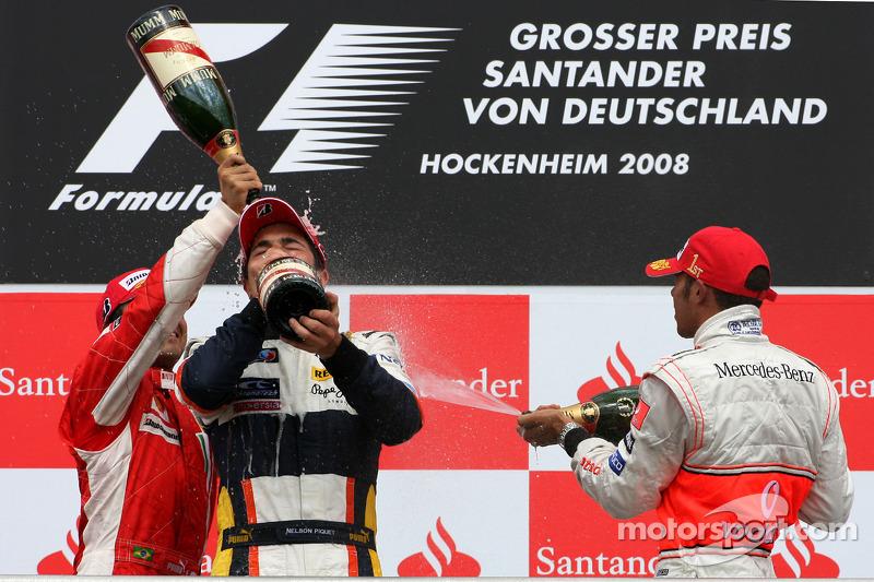 9. Nelsinho Piquet, 2008 - GP da Alemanha