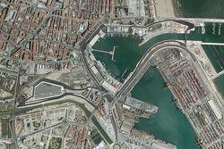 Valencia Grand Prix Circuit aerial view
