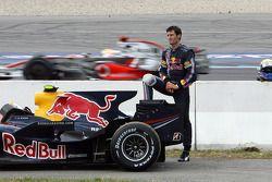 Mark Webber, Red Bull Racing retired from the race