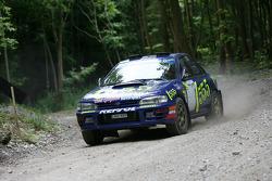 Callum MacLeod, 1995 Subaru Impreza WRC (ex Colin McRae)
