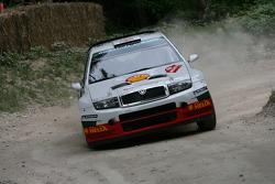 John Haugland, 2005 Skoda Fabia WRC (ex Colin McRae)
