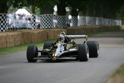 Jim Bennett, 1982 Lotus-Cosworth 91 (ex Elio di Angelis)