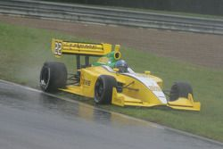 Pablo Donoso slides off the track