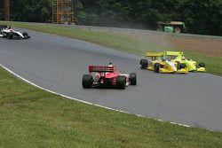 Richard Antinucci breaks loose in corner 4