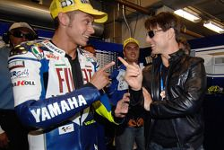 Valentino Rossi and Tom Cruise