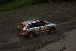 #1 Team USA Porsche Cayenne S Transsyberia