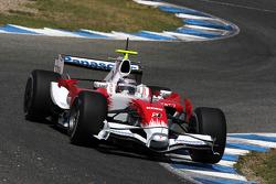Jarno Trulli, Toyota Racing, TF108, slick tyres