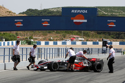 Gary Paffett, Test Pilotu, McLaren Mercedes