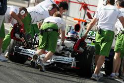 Alexander Wurz, Test Pilotu, Honda Racing F1 Team