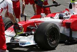 Jarno Trulli, Toyota Racing, slicks
