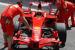 Luca Badoer, Test Pilotu, Scuderia Ferrari, detay