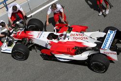 Jarno Trulli, Toyota Racing, slick tyres