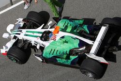 Alexander Wurz, Test Pilotu, Honda Racing F1 Team, detay