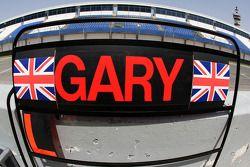 Pit tabelası, Gary Paffett, Test Pilotu, McLaren Mercedes
