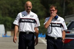 The BMW Sauber F1 Team mechanic injured earlier is released from the medical centre
