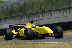 The new A1GP Powered by Ferrari car 2008-09 driven by Andrea Bertolini