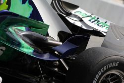 Alexander Wurz, Test Driver, Honda Racing F1 Team, RA108, detail