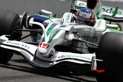 Alexander Wurz, Test Driver, Honda Racing F1 Team, slciks