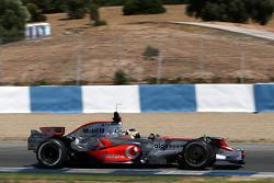Pedro de la Rosa, Test Pilotu, McLaren Mercedes, MP4-23, ve yeni nose wings
